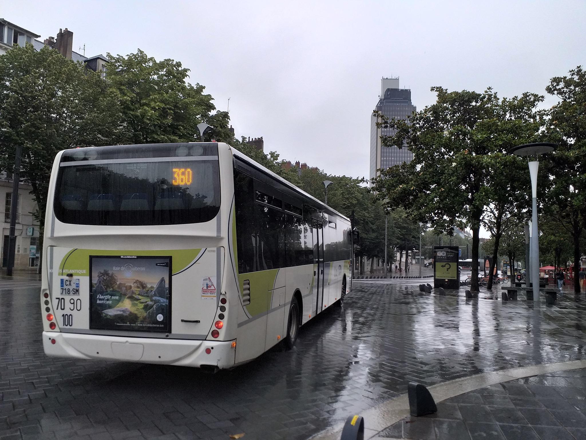 bus, campagne de pub, la sublime
