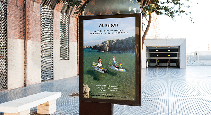 QUIBERON, local, affiche
